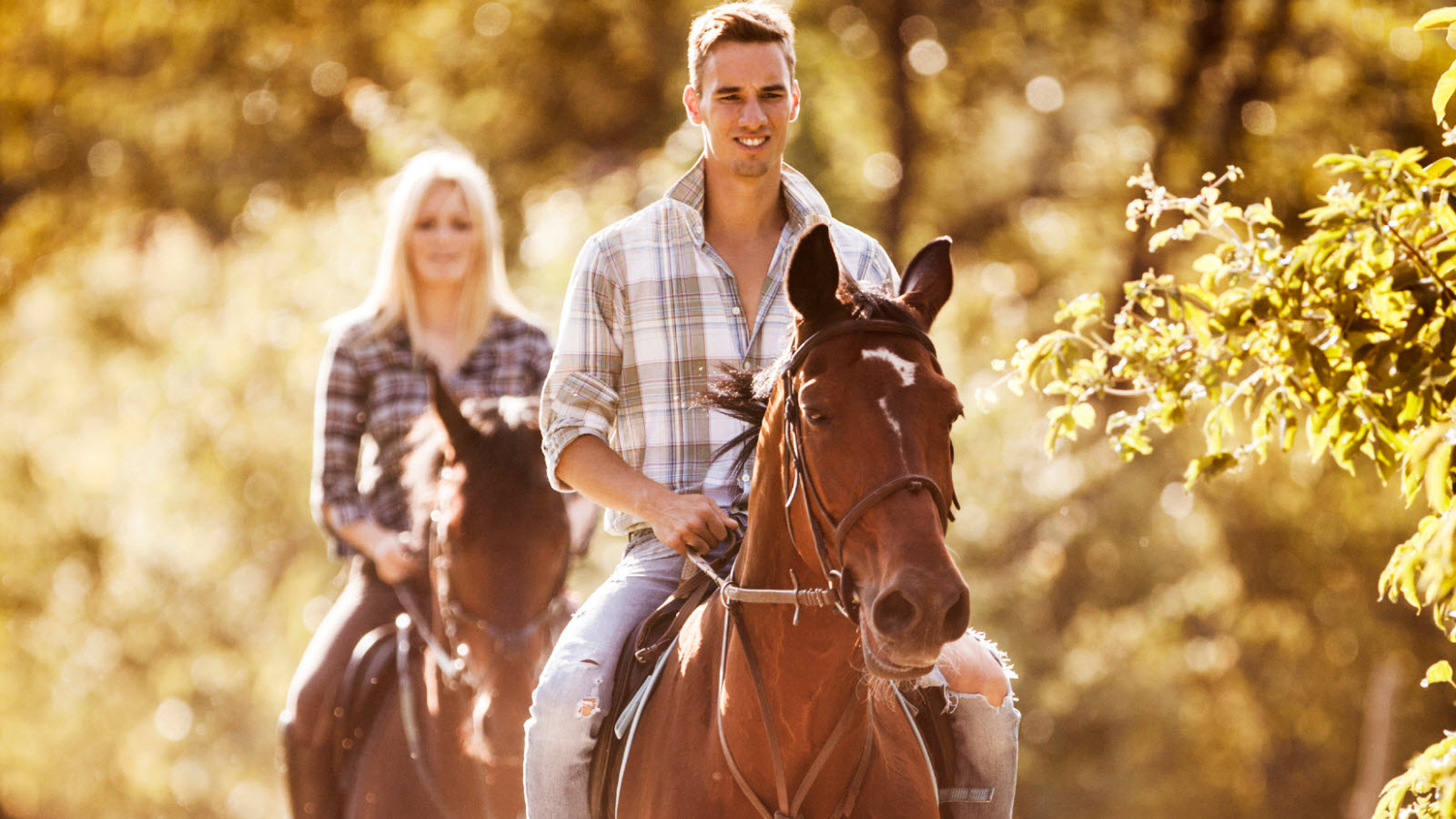 Summer Activities Horseback Riding at The Equinox