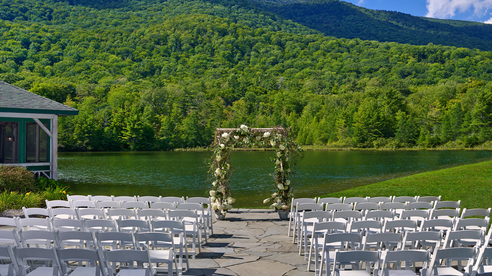 Image Of Outdoor Weddings In Manchester Vermont